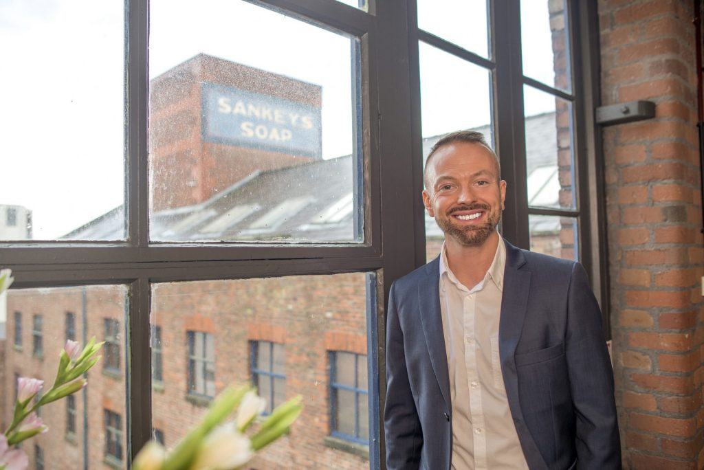 Image of Chris Cooper life and career coach in Manchester near Sankey's Soap in Manchester City Centre